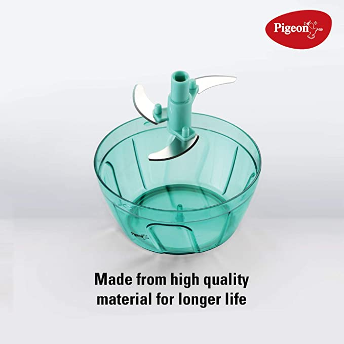 Handy Mini Plastic Chopper Best Chopper for Vegetables    with 3 Blades